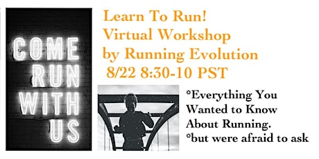 Learn To Run: Everything You Wanted to Know About How To Run! tickets