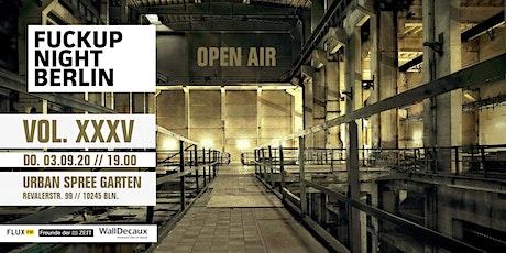 Fuckup Night Berlin Vol. 35 Tickets