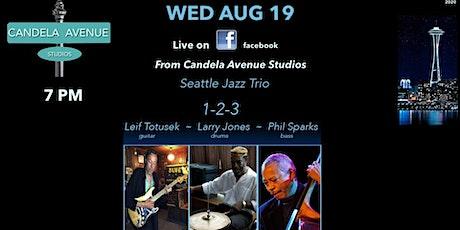 Leif Totusek 1-2-3 jazz live on facebook tickets