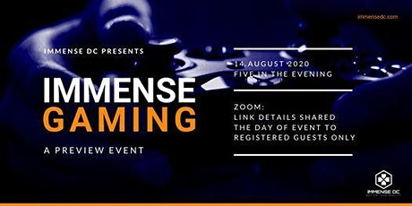 Immense Gaming Virtual Launch Party Event tickets