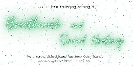 Breathwork and Live Sound Healing Journey tickets