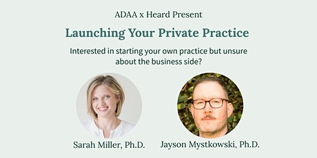 Launching Your Private Practice tickets