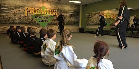 Premier Martial Arts kids karate workshop tickets