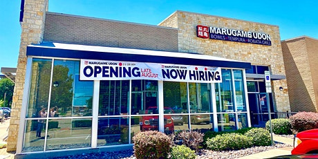 Marugame Udon Grand Opening in Carrollton, Texas tickets