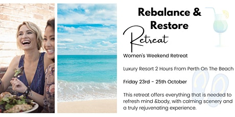 Rebalance & Restore Retreat tickets