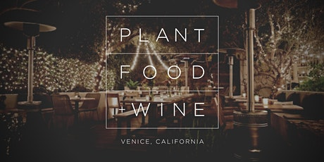 THANKSGIVING AT PLANT FOOD + WINE tickets