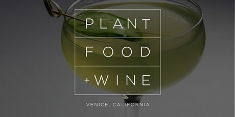 NEW YEARS EVE AT PLANT FOOD + WINE tickets