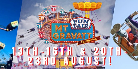 Mt Gravatt Fun Fair - $2 Entry tickets
