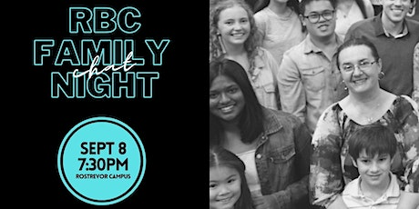 RBC Family 'Chat' Night tickets