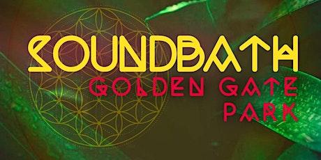 SoundBath, in Golden Gate Park tickets