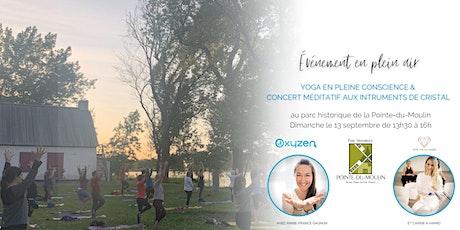 Yoga en pleine conscience & concert méditatif aux instruments de cristal billets