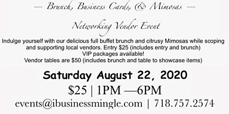 Brunch, Business Cards, & Mimosas Event tickets