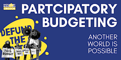 Participatory Budgeting: Another World is Possible tickets