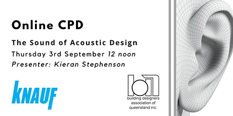 Online CPD: The Sound of Acoustic Design tickets