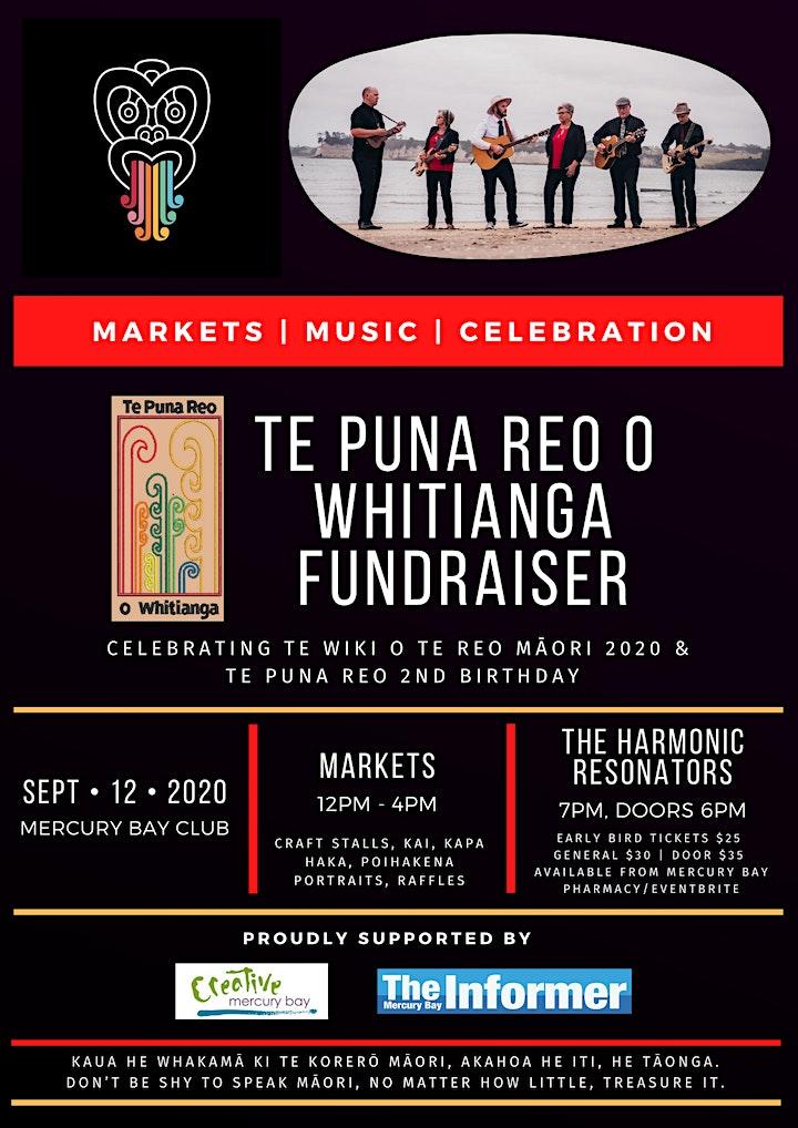 Te Puna Reo o Whitianga Fundraiser image