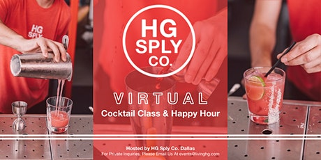 Virtual Happy Hour Hosted by HG Sply Co. tickets