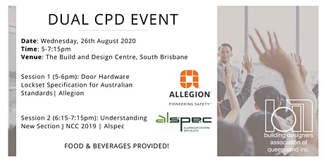 Dual CPD: Australian Standards (Door Hardware) and NCC (Aluminium Systems) tickets