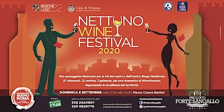 Nettuno Wine Festival 2020 biglietti