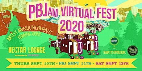PBJam VIRTUAL FEST 2020!! (streaming live SEP 10th-12th) tickets