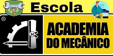 Curso de Mecânica Automotiva RJ Rio de Janeiro ingressos