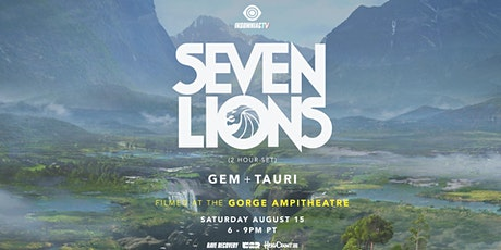 Crewtify Zoom Watch & Dance Party: SEVEN LIONS, Gem & Tauri at the Gorge tickets