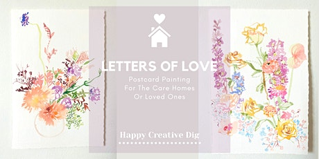 Letters Of Love- Postcard Painting tickets