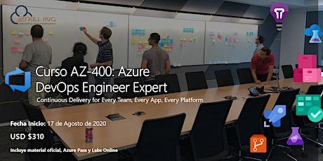 Curso AZ-400: Azure DevOps Engineer Expert tickets