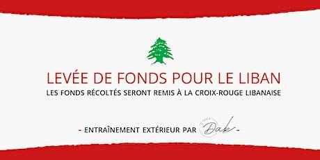 LEVÉE DE FONDS POUR LE LIBAN tickets