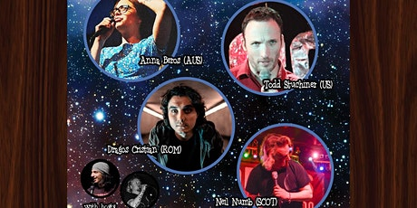 Cosmic Comedy Club Berlin with Free Vegetarian & Vegan Pizza tickets