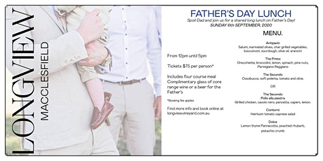 Father's Day 2020 tickets