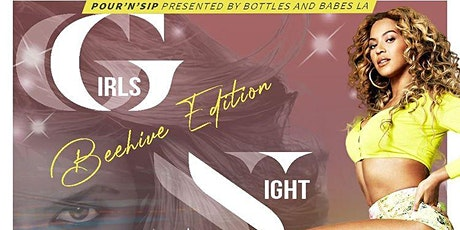 pour'n sip  event: GIRLS NIGHT OUT: Bee Hive edition tickets