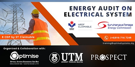 A Two-Days Course on Energy Audit on Electrical System tickets