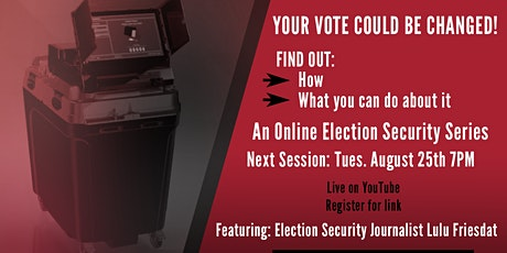 Online Election Security Series - Episode 5 tickets