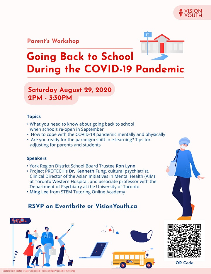 Parents' Workshop on Going Back to School During the COVID-19 Pandemic image