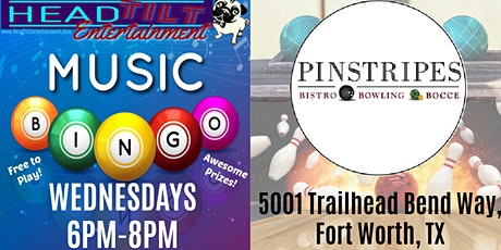 Music Bingo at Pinstripes - Fort Worth!! tickets