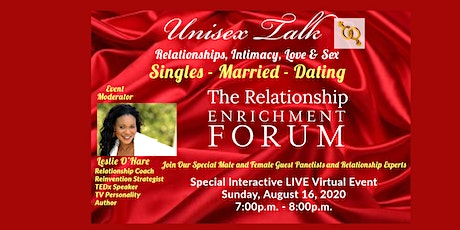 Unisex Talk - Relationship Enrichment Forum ~ Singles - Married - Dating tickets