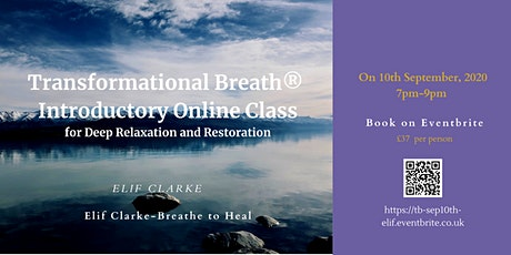 Transformational Breath®  Introductory Online Class tickets