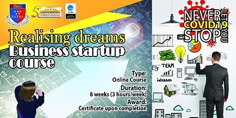 BUSINESS STARTUP IN 8 WEEKS tickets