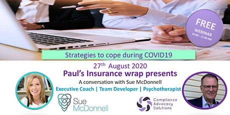 Strategies to cope with COVID19 - Webinar for the Insurance community tickets
