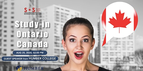 Study in Humber College Ontario Canada tickets