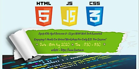 Workshop Series: Learn HTML/CSS/JS tickets