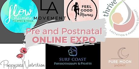 Pre and Postnatal ONLINE EXPO tickets