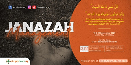 Janazah Management Course @ Still Road (2-Days) tickets