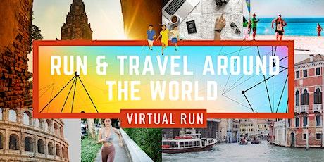 Virtual  Run & Travel Around the World 2020 tickets