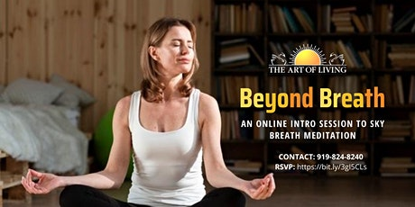 Beyond Breath Online - An Introduction to SKY Breath Meditation tickets