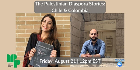The Palestinian Diaspora Stories: Chile and Colombia tickets
