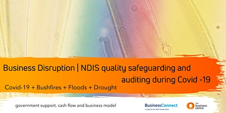 Business Disruption|NDIS quality safeguarding and auditing during Covid-19 tickets