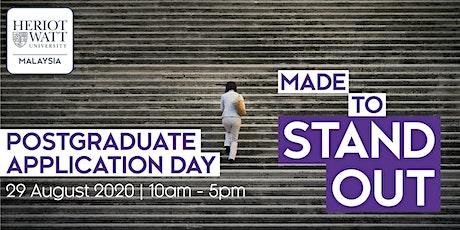 Heriot-Watt Postgraduate Application Day tickets