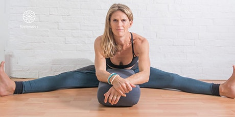 Fivelements Livestream - Yoga Therapy Flow with Charlotte Douglas tickets