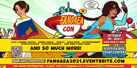 Fangaea 2021 - The Awesomest Pop Culture and Fandom Convention tickets